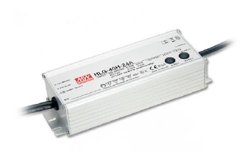LED maitinimo šaltinis 12V 3.33A PFC IP67 Mean Well